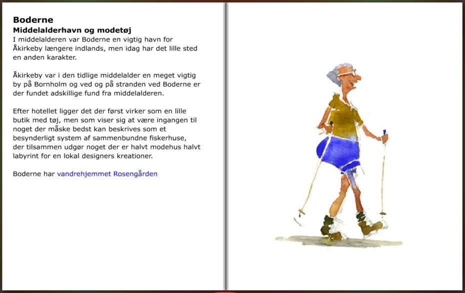 Beskrivelse af Boderne på Bornholm. hiking guide by Frits Ahlefeldt