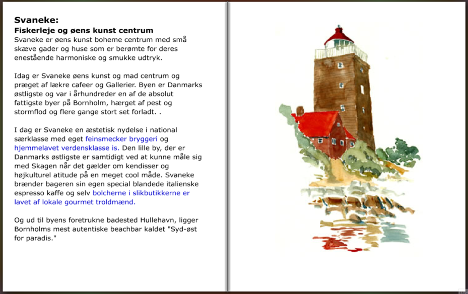 Bornholm Guide, Svaneke info, hiking guide by Frits Ahlefeldt