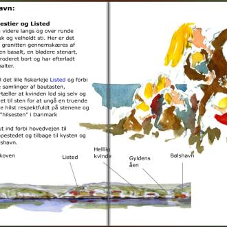 Svaneke - Bolshavn stien, hiking guide by Frits Ahlefeldt